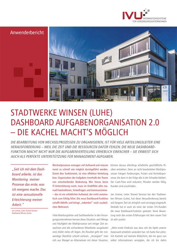 IVU.Dashboard bei den Stadtwerken Winsen
